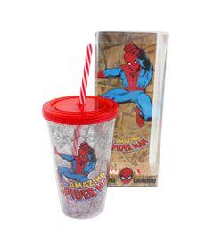 Copo-com-Canudo---500-ml---Marvel---The-Amazing-Spider-Man---Vermelho---Zona-Criativa-10020456-frente2