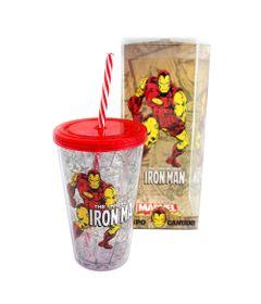 Copo-com-Canudo---500-ml---Marvel---The-Invincible-Iron-Man---Vermelho---Zona-Criativa-10020457-frente2