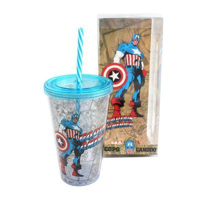 Copo-com-Canudo---500-ml---Marvel---Capitao-America---Azul---Zona-Criativa-10020461-frente1