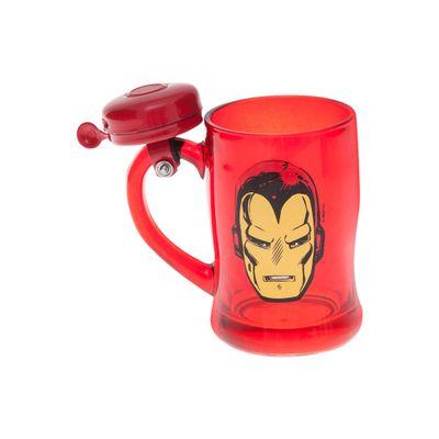 Caneca-com-Campainha---400-ml---Marvel---Iron-Man---Vermelho---Zona-Criativa-10020471-frente