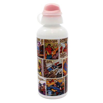Garrafa-de-Aluminio---600-ml---Marvel---HQ-Colorido---Zona-Criativa-10070301-frente1