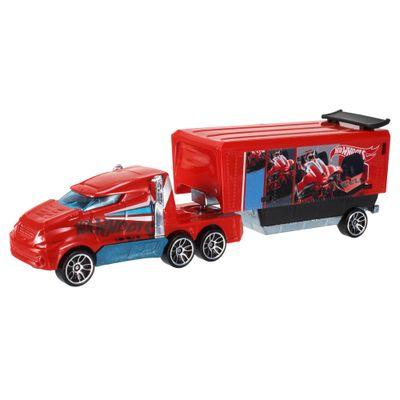 Carrinho-Hot-Wheels---Track-Stars---Hiway-Hauler---Vermelho---Mattel