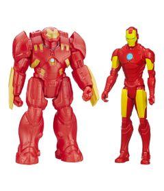 Compre-um-Boneco-Avengers---Titan-Hero---Hulkbuster---30-cm-e-Ganhe-um-Boneco-Marvel-Avengers---Disney---Titan-Hero-Series---30-cm---Iron-Man---Hasbro