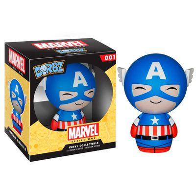 Figura-Colecionavel---Funko-DORBZ---Disney---Marvel---Capitao-America---Funko