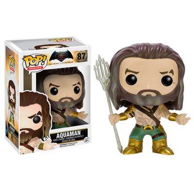 Figura-Colecionavel---Funko-POP---DC-Comics---Aquaman---Funko