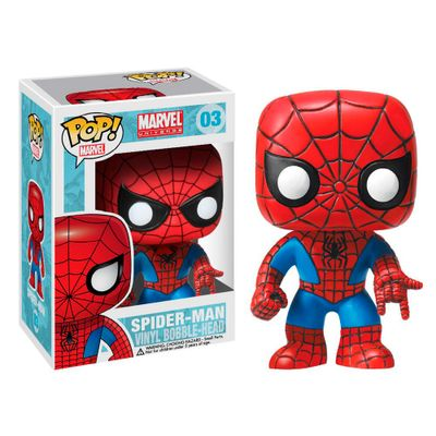 Figura-Colecionavel---Funko-POP---Disney---Marvel---Homem-Aranha---Funko