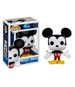 Figura-Colecionavel---Funko-POP---Disney---Mickey-Mouse---Funko