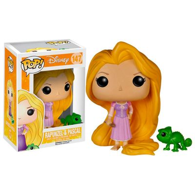 Figura-Colecionavel---Funko-POP---Disney---Princesas---Rapunzel---Funko