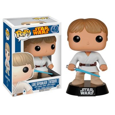 Figura-Colecionavel---Funko-POP---Disney---Star-Wars---Luke-Skywalker---Funko