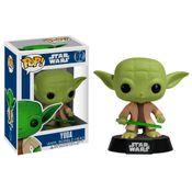 Figura-Colecionavel---Funko-POP---Disney---Star-Wars---Mestre-Yoda---Funko