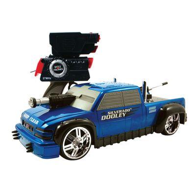 Carrinho-de-Controle-Remoto---Battle-Machines---1999-Chevy-Silverado-Dooley---Candide