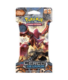 Deck-Pokemon---Blister-Unitario---Pokemon-XY11---Cerco-de-Vapor---Vulcanion---Copag-97404---1-frente