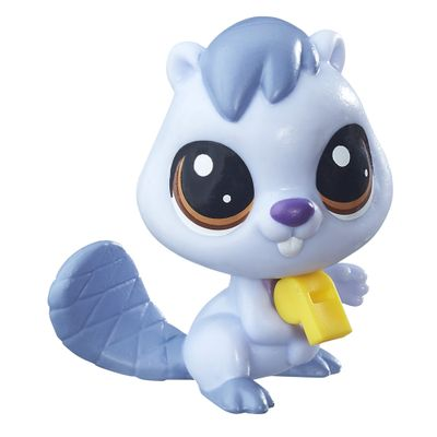 Mini-Boneca-Littlest-Pet-Shop---Bluesy-Beaverton---Hasbro