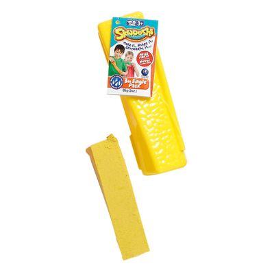 Massa-de-Modelar-Esticavel---Skwooshi---Pote-Unitario---Amarelo---Sunny