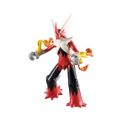 Mini-Figuras-Colecionaveis-Pokemon---4-unidades---Terceira-Geracao---Mega-Blaziken---Tomy