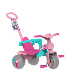 Triciclo-Veloban-Passeio---Rosa---Bandeirante-244-frente