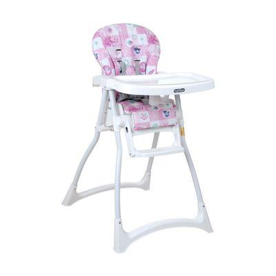 Cadeira-Alta-de-Alimentacao---Merenda---Peixinho---Rosa---Peg-Perego-IMSMERGL21-frente