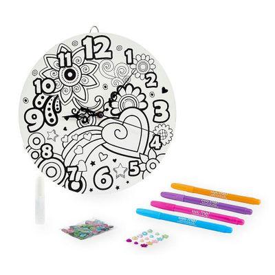 Kit-de-Artes---Relogio-para-Decorar---Totally-Me---New-Toys