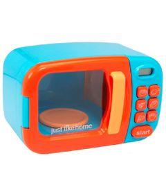 Mini-Microondas---Just-Like-Home---Laranja-e-Azul---New-Toys