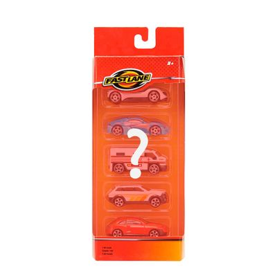 Pack-Die-Cast---5-Mini-Veiculos-Sortidos---Fastlane---New-Toys
