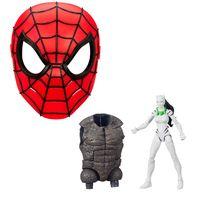Kit-com-Figura-e-Mascara-Basica---Disney---Marvel---White-Tiger-15-Cm-e-Mascara-Spider-Man---Hasbro