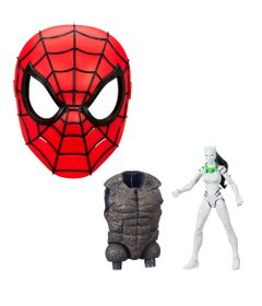 Kit-com-Figura-e-Mascara-Basica---Disney---Marvel---White-Tiger-15-Cm-e-Mascara-Spider-Man---Hasbro