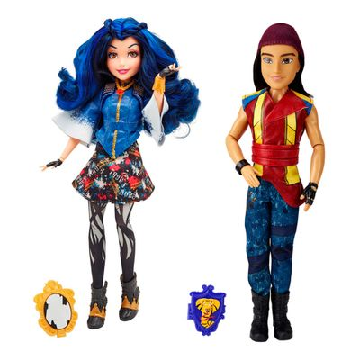 Kit-de-Bonecas---Disney---Descendants---Vilas---Evie-e-Jay---Hasbro
