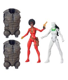 Kit-de-Bonecos---15-Cm---Disney---Marvel---Spider-Man-Infinite-Legends---Misty-Knight-e-White-Tiger---Hasbro