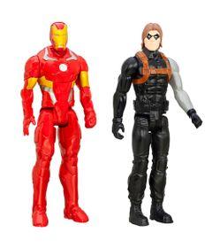Kit-de-Bonecos---30-Cm---Disney-Marvel---Titan-Heroes-Series---Iron-Man-e-Soldado-Invernal---Hasbro