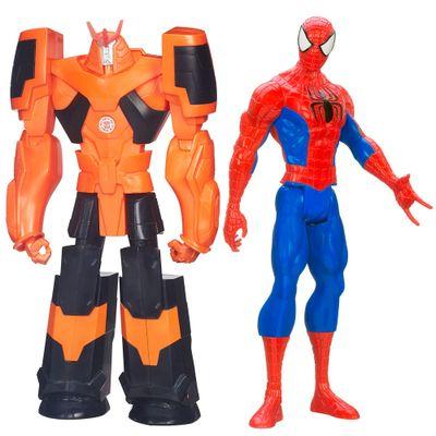 Kit-de-Bonecos---Titan-Hero---Disney---Marvel---Ultimate-Spider-Man-e-Transformers---Autobot-Drift---Hasbro