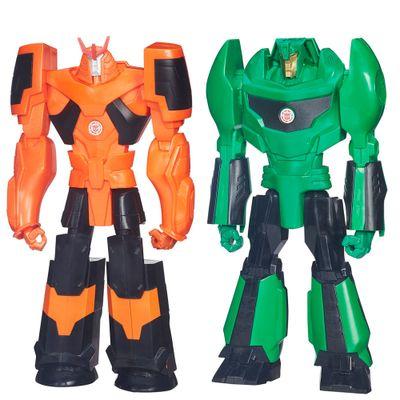 Kit-de-Bonecos---Transformers---Titan-Hero---Autobot-Drift-e-Grimlock---Hasbro