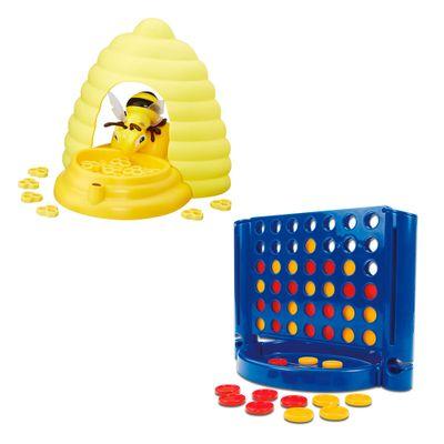 Kit-de-Jogos---Abelinha-Surpresa-e-Conecta-4---Hasbro