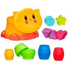 Kit-Playskool---Gatinho-com-Formas-de-Encaixe-e-Barris-de-Encaixe---Hasbro