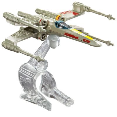 Nave-Star-Wars---X--Wing-Fighter-Red-5---Hot-Wheels---Mattel