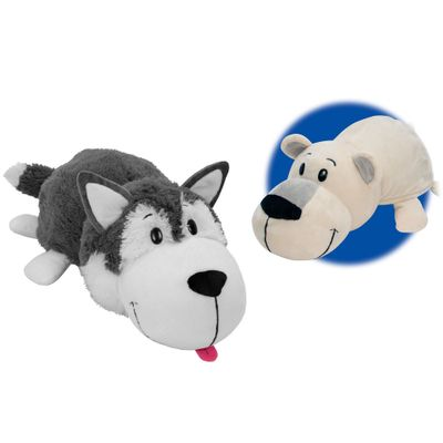 Pelucia-2-em-1---Flip-a-Zoo---Urso-Polar-e-Lobo-Branco---Jayplay