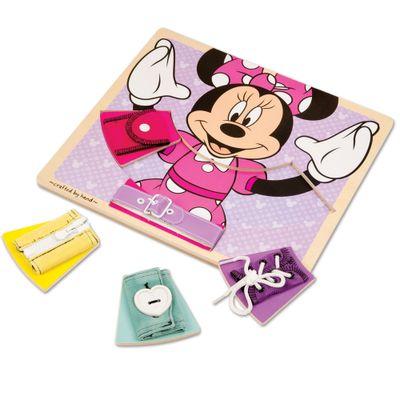 Pecas-de-Encaixe-de-Madeira---Disney---Minnie-Mouse---New-Toys