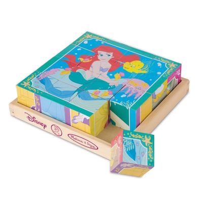 Quebra-Cabeca---Cubos-de-Madeira---Disney---Princesas---New-Toys