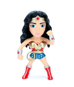 Figura-Colecionavel-10-Cm---Metals---DC-Comics---DC-Hero-Girls---Serie-1---Wonder-Woman---DTC