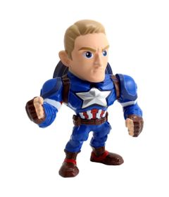 Figura-Colecionavel-15-Cm---Metals---Disney---Marvel---Civil-War---Capitao-America---DTC