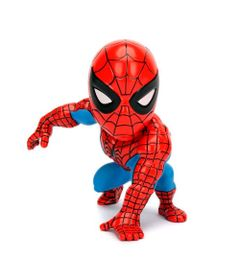 Figura-Colecionavel-15-Cm---Metals---Disney---Marvel---Spider-Man---Classic-Spider-Man---DTC