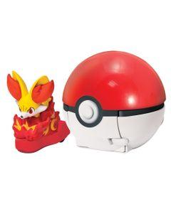 Lancador-Pokemon---Pokebola-com-Figura---Ataque-Rapido---Fennekin---Tomy