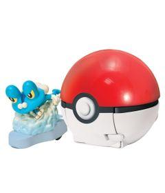Lancador-Pokemon---Pokebola-com-Figura---Ataque-Rapido---Froakie---Tomy