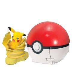 Lancador-Pokemon---Pokebola-com-Figura---Ataque-Rapido---Pikachu---Tomy