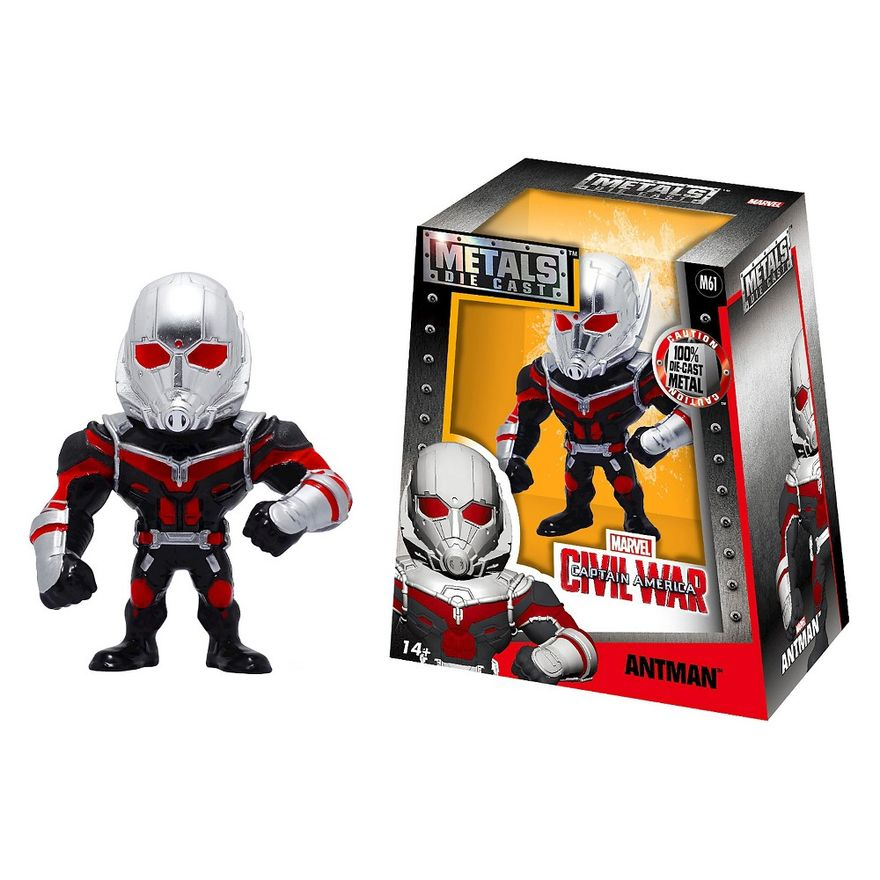Figura-Colecionavel-15-Cm---Metals---Disney---Marvel---Civil-War---Homem-Formiga---DTC