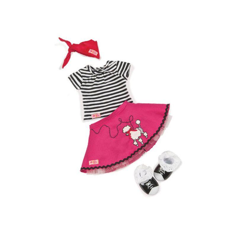 b648d93a2 Blusa Listrada com Saia de Cachorrinho - Our Generation - Ri Happy  Brinquedos