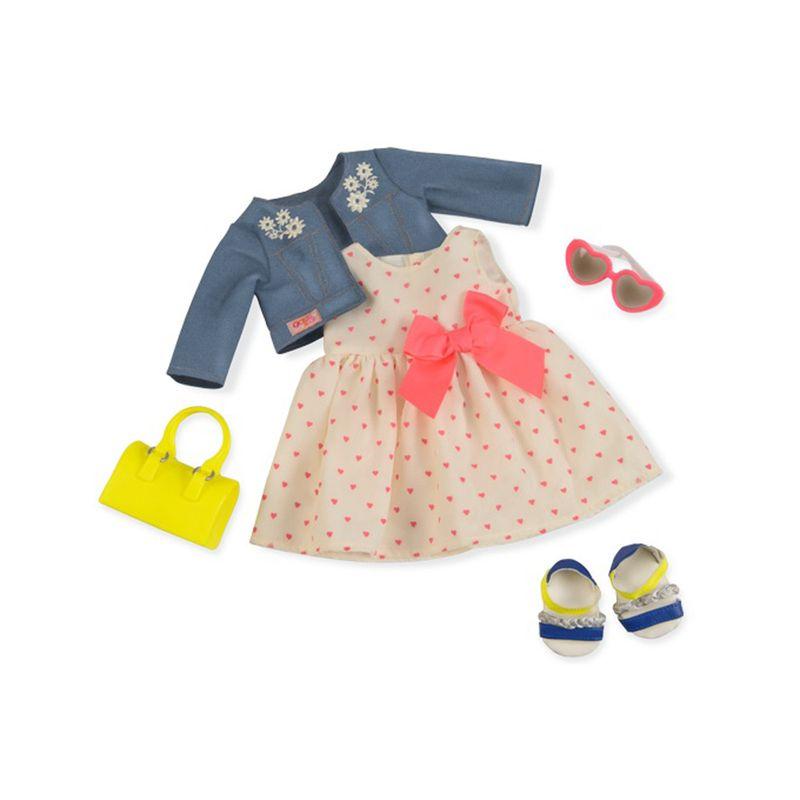 fb29242a8 Vestido de Corações - Our Generation - Ri Happy Brinquedos