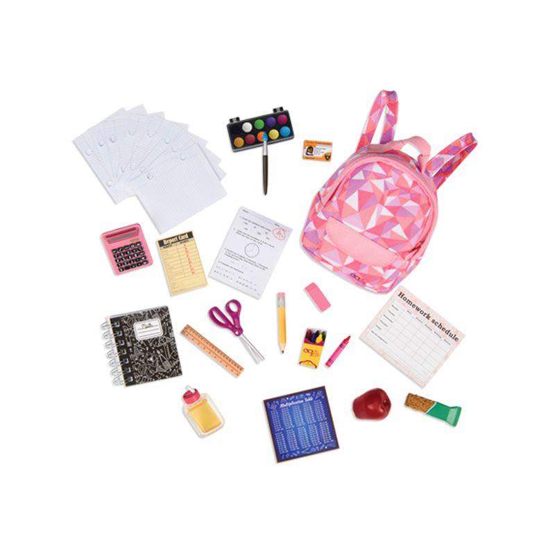 9d0028a73 Conjunto de Acessórios Escolares - Our Generation - Ri Happy Brinquedos