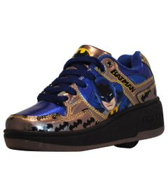 Tenis-Roller---DC-Comics---Batman---Preto-e-Azul---Royal-Kids