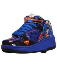 Tenis-Roller---DC-Comics---Superman---Azul---Royal-Kids