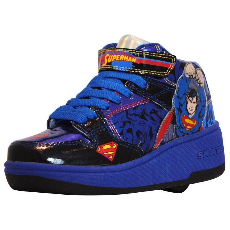 Tênis Roller - DC Comics - Superman - Azul - Royal Kids - PBKIDS 72c1ac8f74671